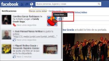 como eliminar notificaciones de juegos en facebook